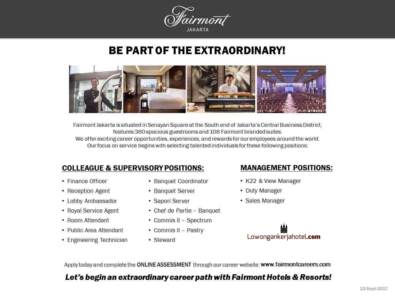 Fairmont-Jakarta